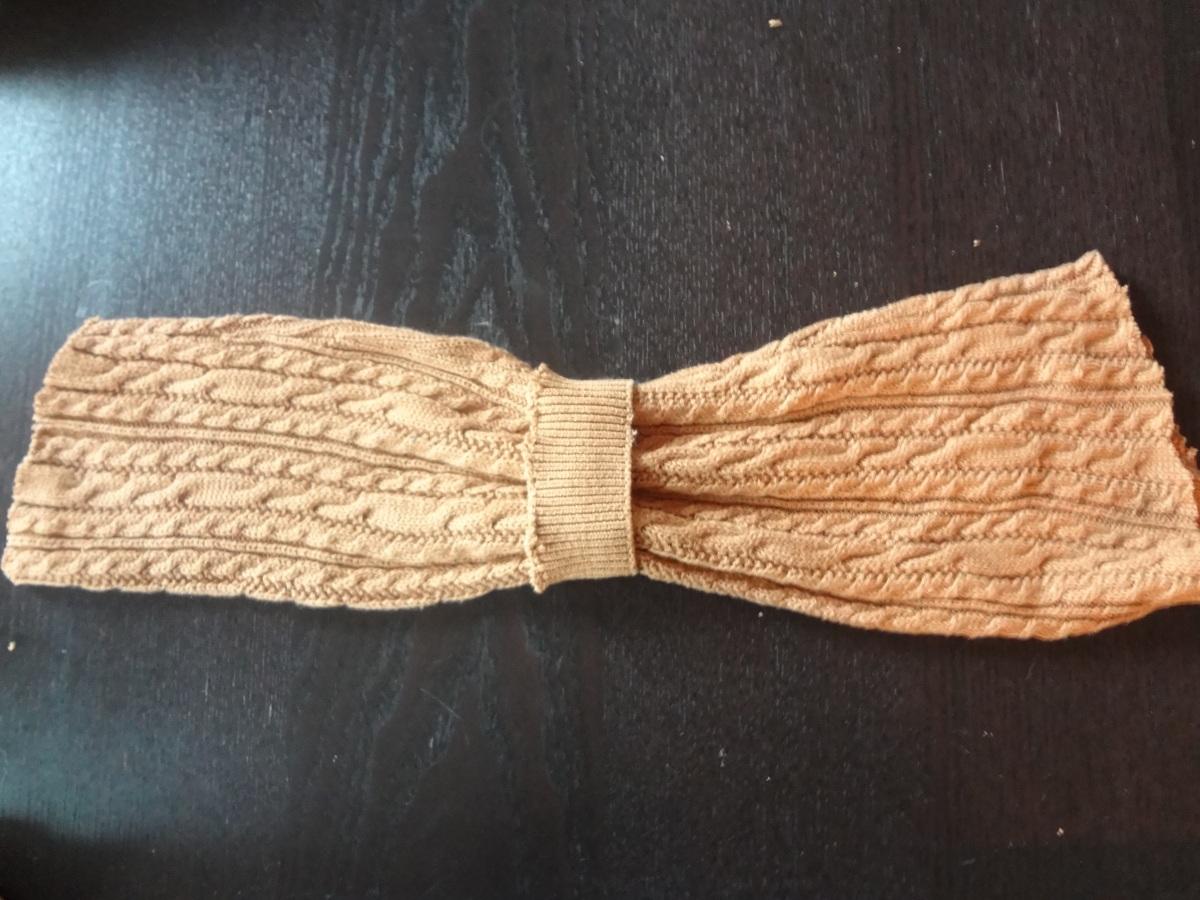 Les JeuDIY : Fabriquer un bandeau avec un vieux chandail.