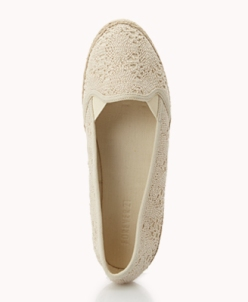 Crocheted Espadrille Slip-Ons Was-CAD $17.80 Now-CAD $12.00