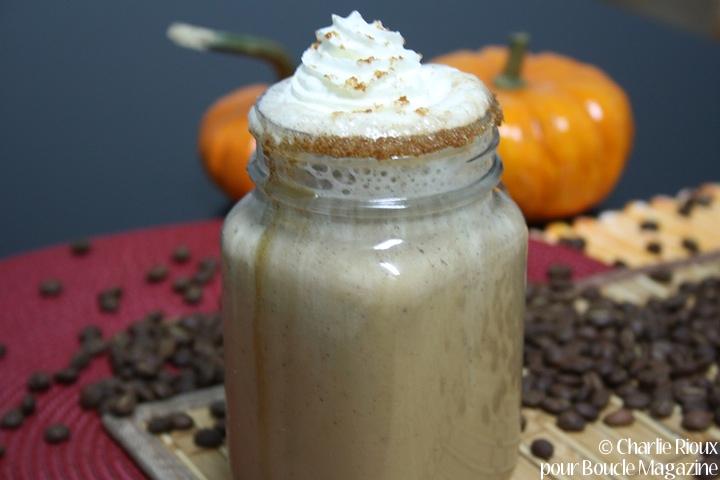 latte citrouille epicee vegan
