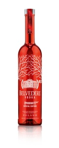 (BELVEDERE) RED Bottle