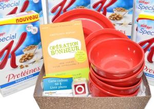 Céréales Special K Protéines - Panier cadeau