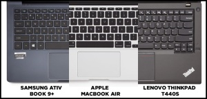 Ergonomie du clavier - laptopmag.com