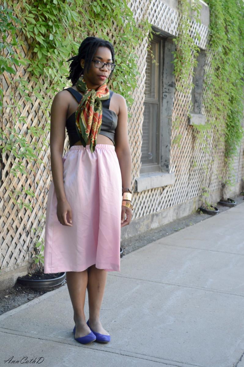 3 façons de porter : la jupe midi