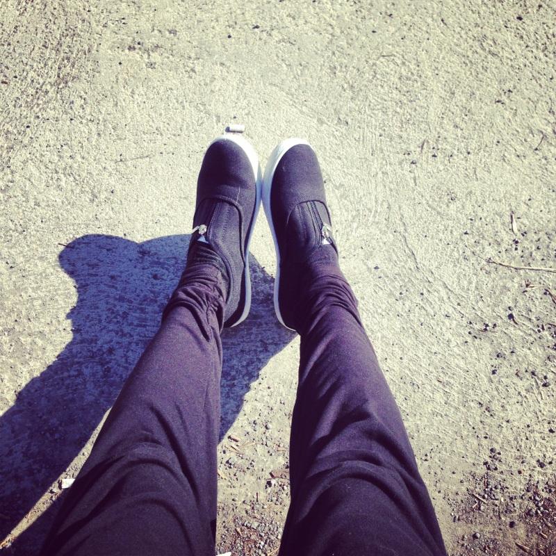 Je les porte vraiment souvent et ils sont super confortables! Plus que des comparables chez Spring!