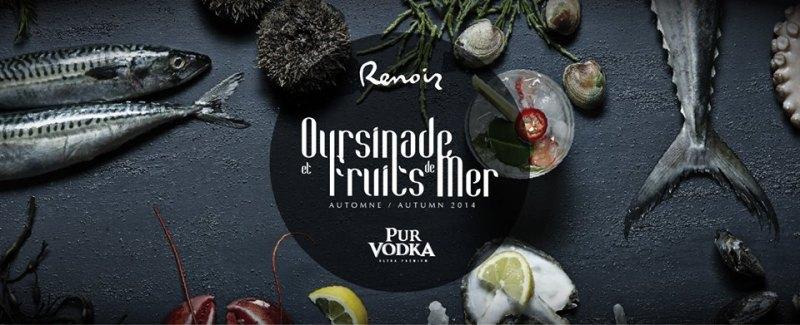 Oursinades et fruits de mer- Renoir